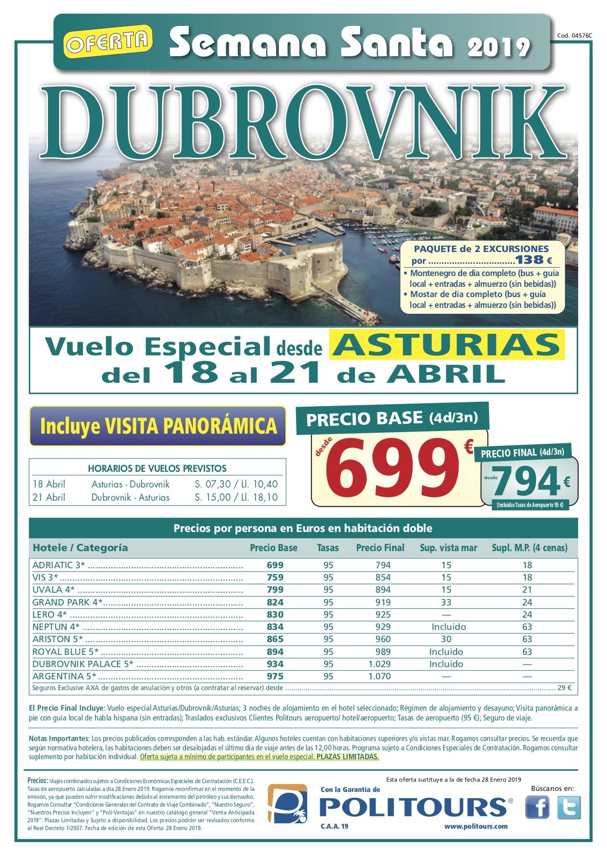 Viaje a Dubrovnik